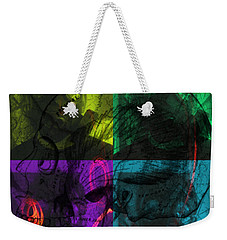 Weekender Tote Bag featuring the photograph L S D  Part One by Sir Josef - Social Critic - ART