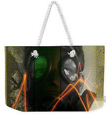 Weekender Tote Bag featuring the photograph L S D  Part Three by Sir Josef - Social Critic - ART