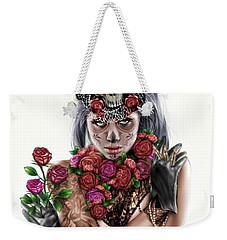 La Calavera Catrina Weekender Tote Bag by Pete Tapang