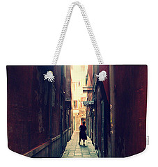 Weekender Tote Bag featuring the photograph La Cameriera  by Micki Findlay