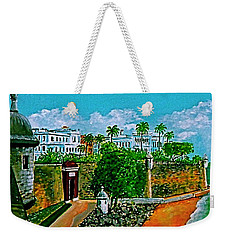 La Fortaleza San Juan Puerto Rico Weekender Tote Bag by Frank Hunter
