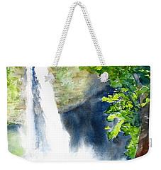 La Fortuna Waterfall Weekender Tote Bag by Carlin Blahnik