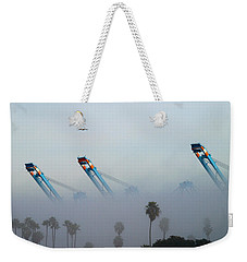 La Harbor Never Sleeps Weekender Tote Bag
