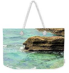 La Jolla Beach Rocks Weekender Tote Bag