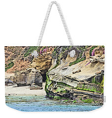 La Jolla Cliffs Weekender Tote Bag