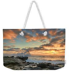 La Jolla Cove At Sunset Weekender Tote Bag