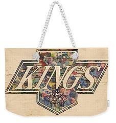 La Kings Vintage Art Weekender Tote Bag