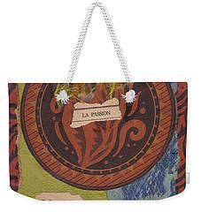 La Passion Weekender Tote Bag
