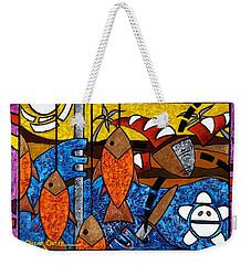 La Pesca Virgen De Un Hombre Honrado Weekender Tote Bag