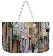 La Pietonne A Annecy - France Weekender Tote Bag