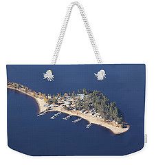 La Pointe A David Weekender Tote Bag