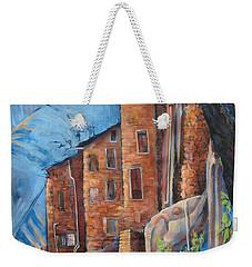 La Rocca Citta Lg Italy Weekender Tote Bag