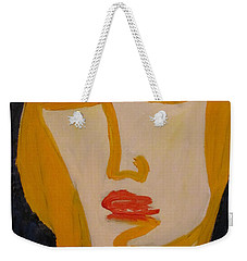 L.a. Woman Weekender Tote Bag