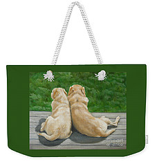 Labrador Lazy Afternoon Weekender Tote Bag