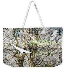 Weekender Tote Bag featuring the digital art Lacassine Batik 3 by Lizi Beard-Ward