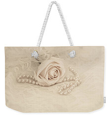 Lace And Promises Weekender Tote Bag