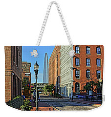 Laclede's Landing Just North Of The Arch Weekender Tote Bag