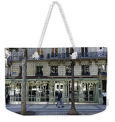 Laduree On The Champs De Elysees In Paris France  Weekender Tote Bag