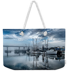 Ladies In Waiting - Blue Weekender Tote Bag