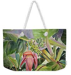 Lady Fingers - Banana Tree Weekender Tote Bag