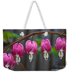 Weekender Tote Bag featuring the photograph Lady In A Bath by Barbara McMahon