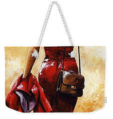 Lady In Red #25 Weekender Tote Bag