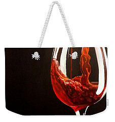 Lady In Red Weekender Tote Bag by Darren Robinson