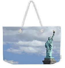 Lady Liberty   1 Weekender Tote Bag by Allen Beatty