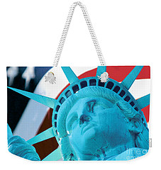 Lady Liberty  Weekender Tote Bag by Jerry Fornarotto