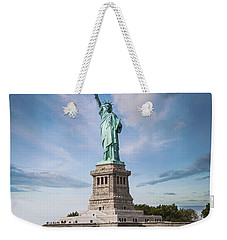 Lady Liberty Weekender Tote Bag by Juli Scalzi
