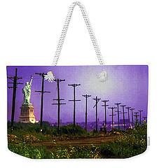 Lady Liberty Lost Weekender Tote Bag
