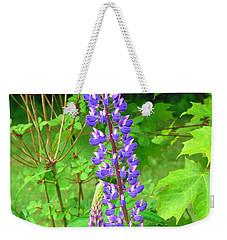 Lady Lupine Weekender Tote Bag