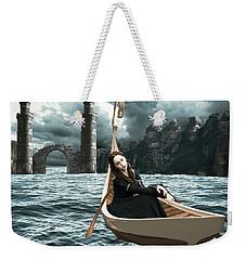 Lady Of Llyn-y-fan Fach Weekender Tote Bag