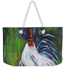 Lady Pleaser, Rooster  Weekender Tote Bag