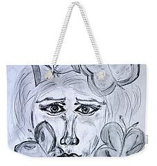 Lady Queen Of Butterflies Weekender Tote Bag