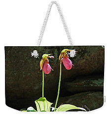 Lady Slippers At Moore State Park 5 Weekender Tote Bag