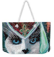 Lady Snowshoe Weekender Tote Bag