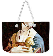 Lady With An Ermine Weekender Tote Bag