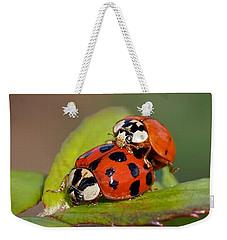 Ladybird Coupling Weekender Tote Bag