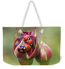 Ladybug Foursome Weekender Tote Bag