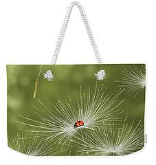 Ladybug Weekender Tote Bag by Veronica Minozzi
