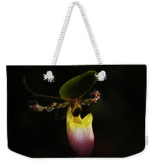 Ladys Slipper Orchid Weekender Tote Bag