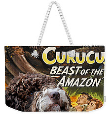 Lagotto Romagnolo Art Canvas Print - Curucu Movie Poster Weekender Tote Bag