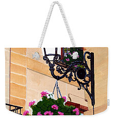Laguardia Street Lamp  Weekender Tote Bag by Mike Robles
