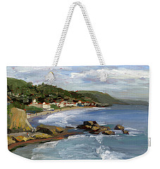 Laguna Beach Weekender Tote Bag by Alice Leggett