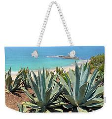 Laguna Coast With Cactus Weekender Tote Bag