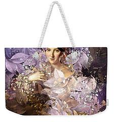 Laila - Des Femmes Et Des Fleurs Weekender Tote Bag