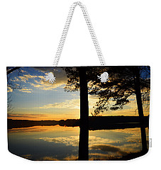 Lake At Sunrise Weekender Tote Bag