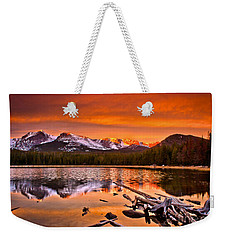 Lake Bierstadt In The Morn Weekender Tote Bag