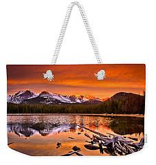 Lake Bierstadt In The Morn Weekender Tote Bag by Steven Reed